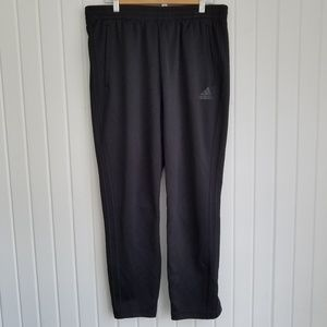 Adidas Side Snap Button Track Pants Size LG